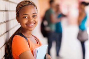 Invisalign Teen in school Soleil Orthodontics